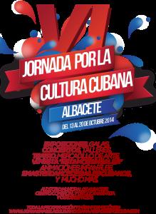 Cartel VI Jornada Cultura Cubana Albacete