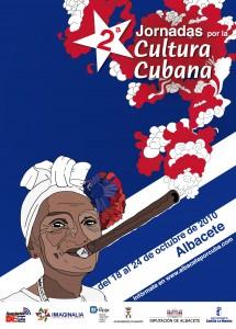 Cartel  Jornada cultural cubana 2010 albacete