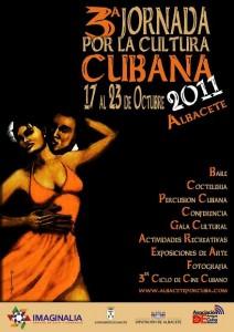 Cartel Jornadas Cubanas 2011