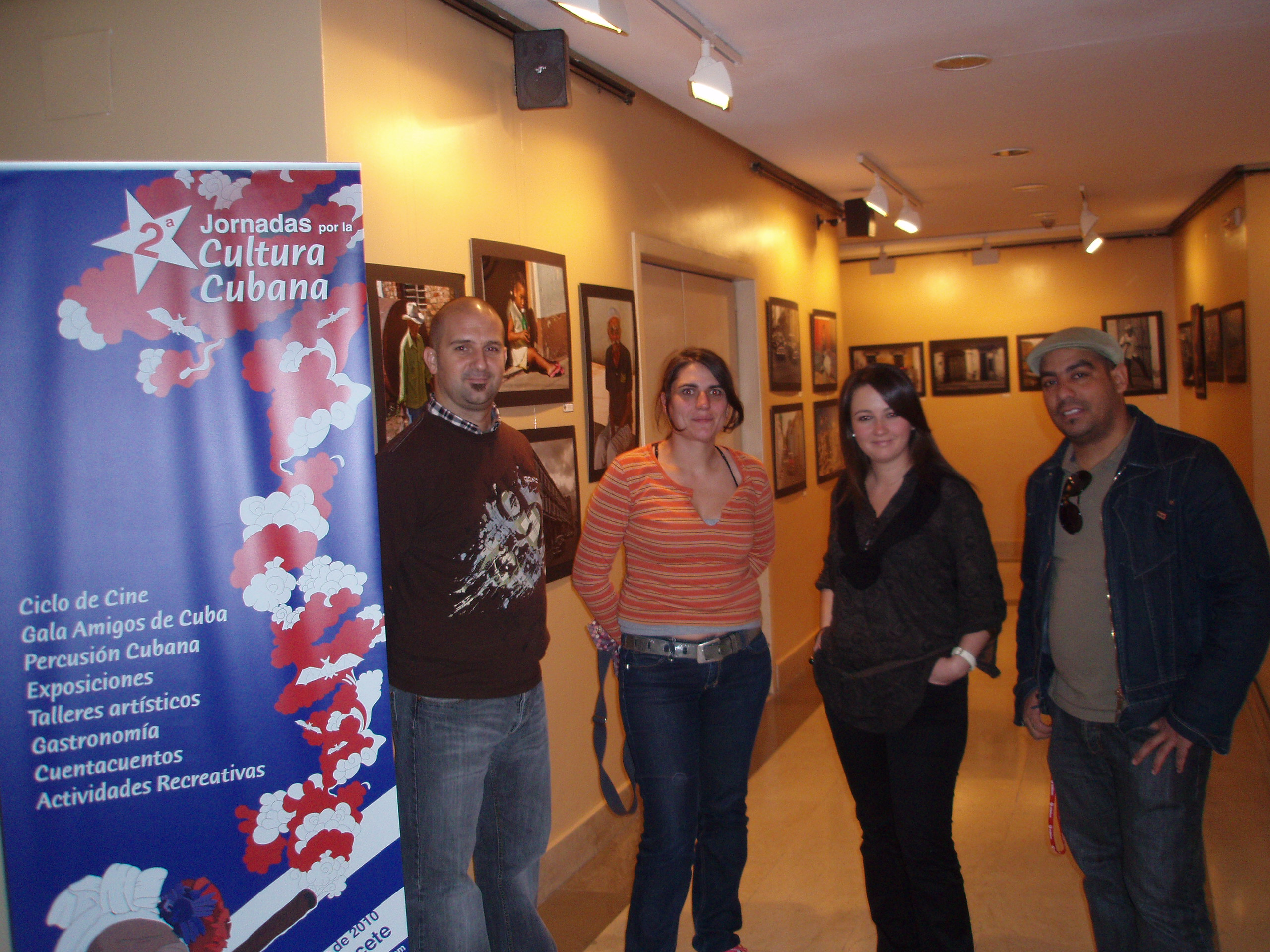 Exposición II Jornada cultural cubana albacete