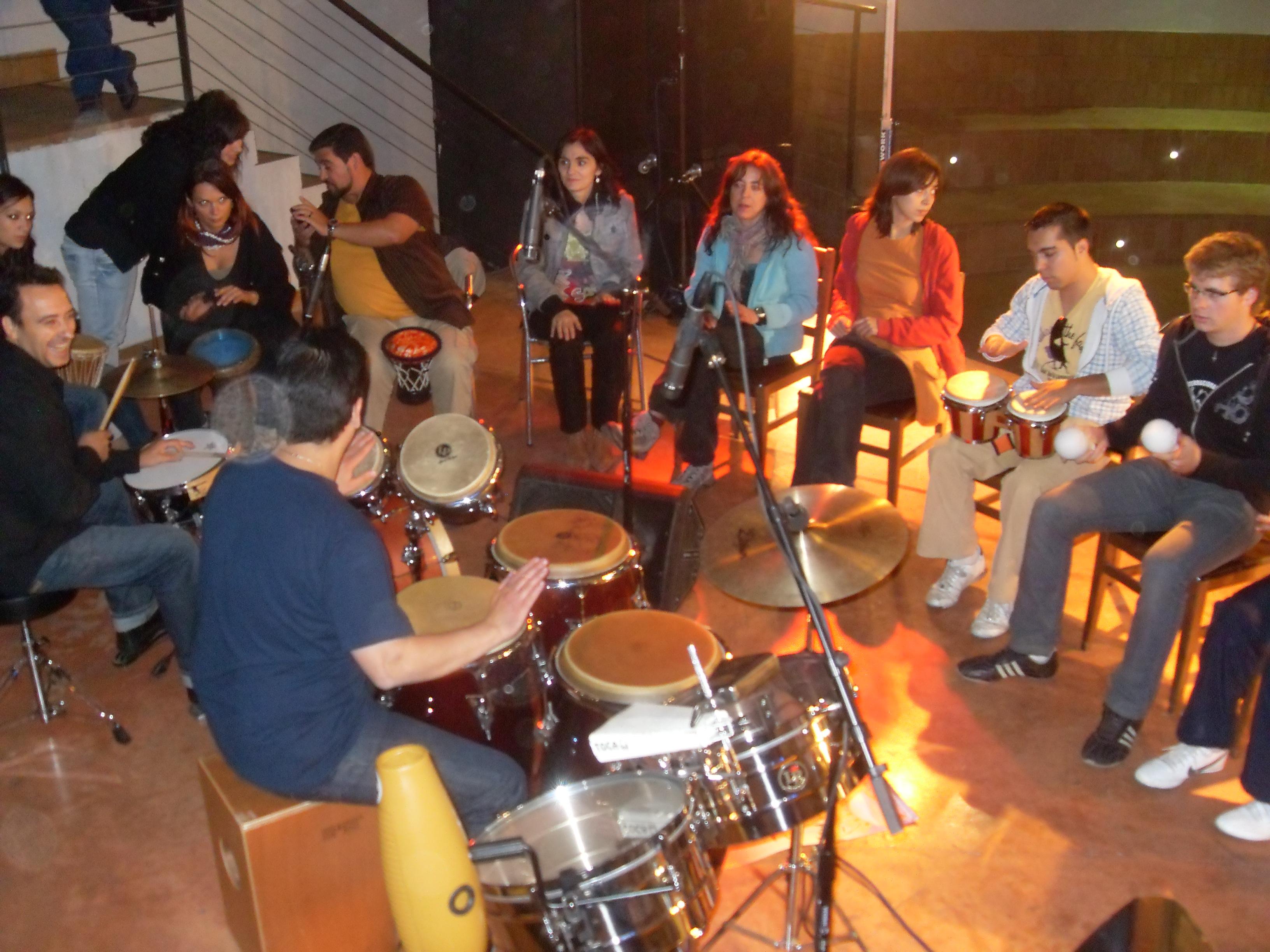 MasterClass del percusionista cubano Yoel Paez Glez
