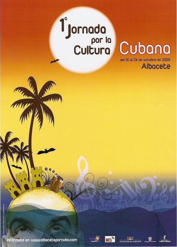 Cartel I Jornada Cubana en Albacete