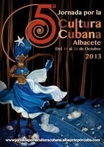 Tarjeta V Jornada Cubana Cultural
